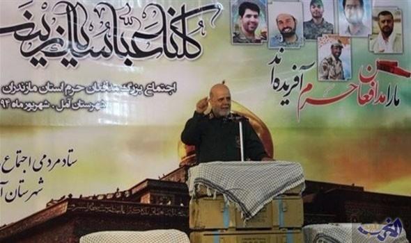 """هذا مستشار الجنرال قاسم سليماني الذي اصبح سفير في دولة عربية  """"صورة """""""