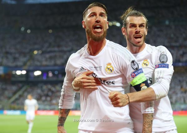 بيل وراموس يعودان في مباراة ريال مدريد و الافيس اليوم