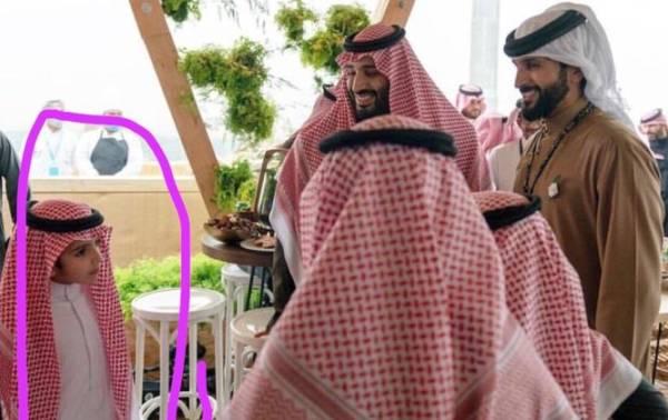 شاهد صورة نادرة لنجل ولي العهد السعودي الامير محمد بن سلمان