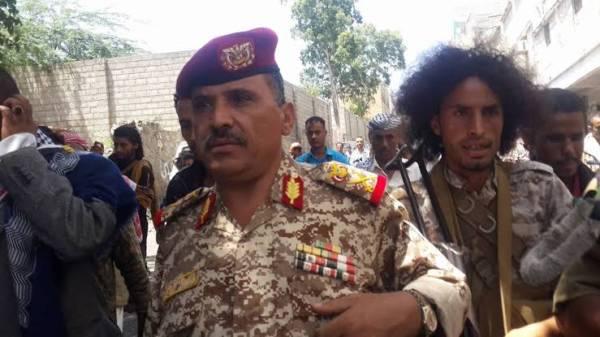 الرئيس هادي يصدر قرار جمهوري بتعيين اللواء خالد فاضل مديرا لدائرة العمليات الحربية