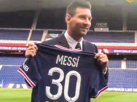 لماذا اختار ليونيل ميسي الرقم 30 بدلاً من 10 مع باريس سان جيرمان